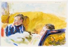 Le divan jaune