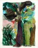 Un arbre, le soir
