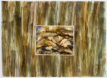Blond Rocks and Bark