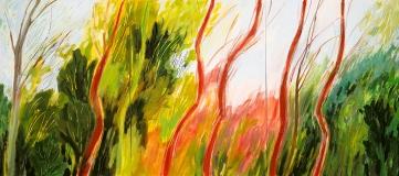 Slender Trees, tryptic